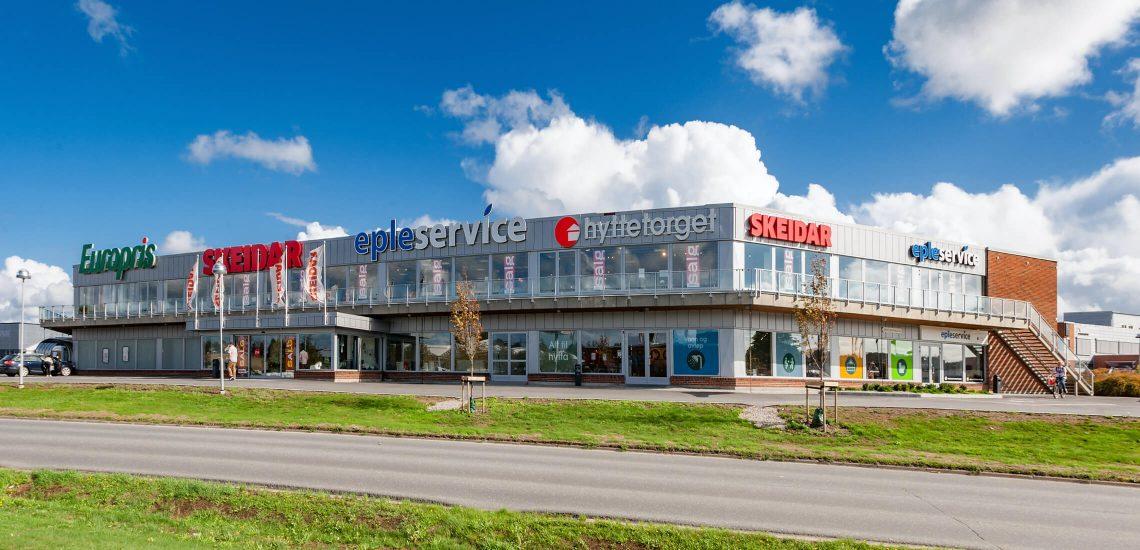Butikk- showrom på Tunejordet